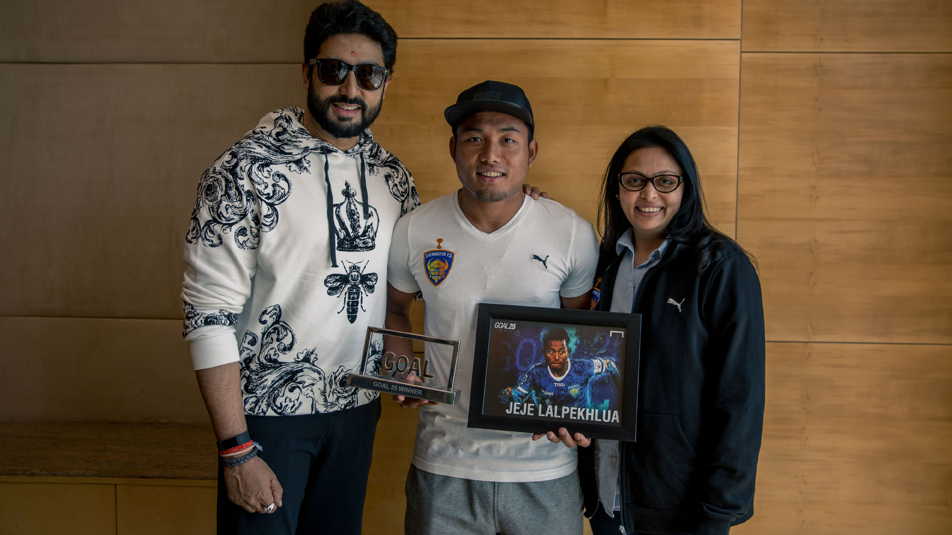 Jeje Lalpekhlua Abhishek Bachchan Goal 25 India