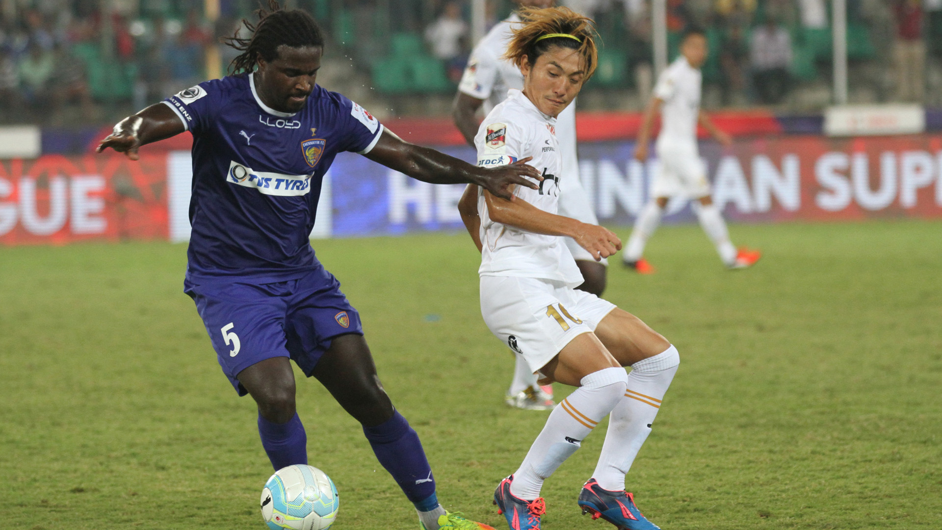 Bernard Mendy Katsumi Yusa Chennaiyin FC NorthEast United FC ISL season 3 2016