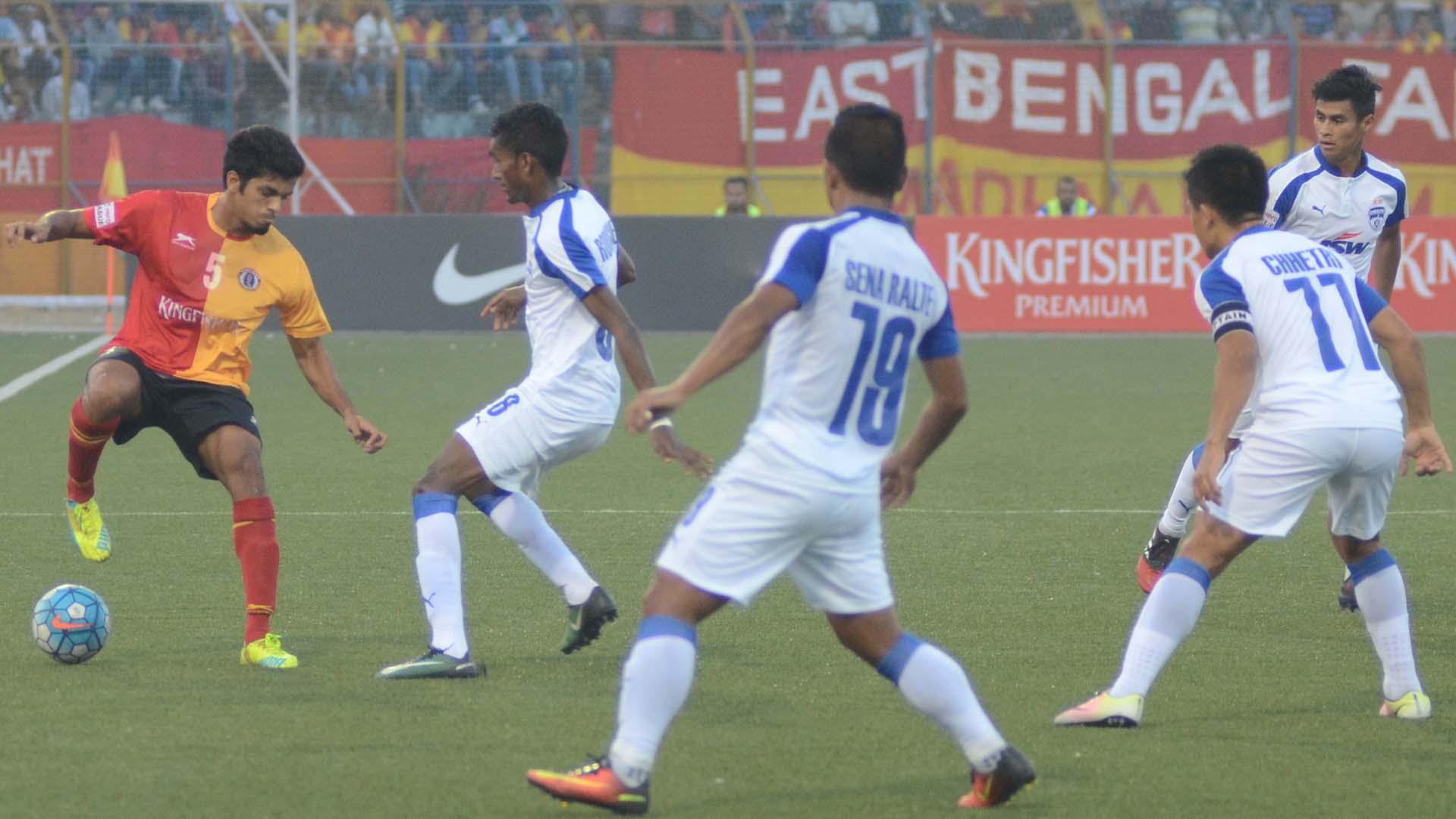 Rahul Bheke East Bengal Bengaluru FC I-League 2017