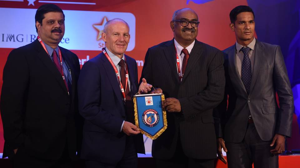 Steve Coppell Subrata Paul Jamshedpur FC ISL 2017 Players Draft