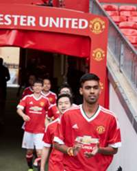 Manchester United fans follow in the footsteps of their heroes at