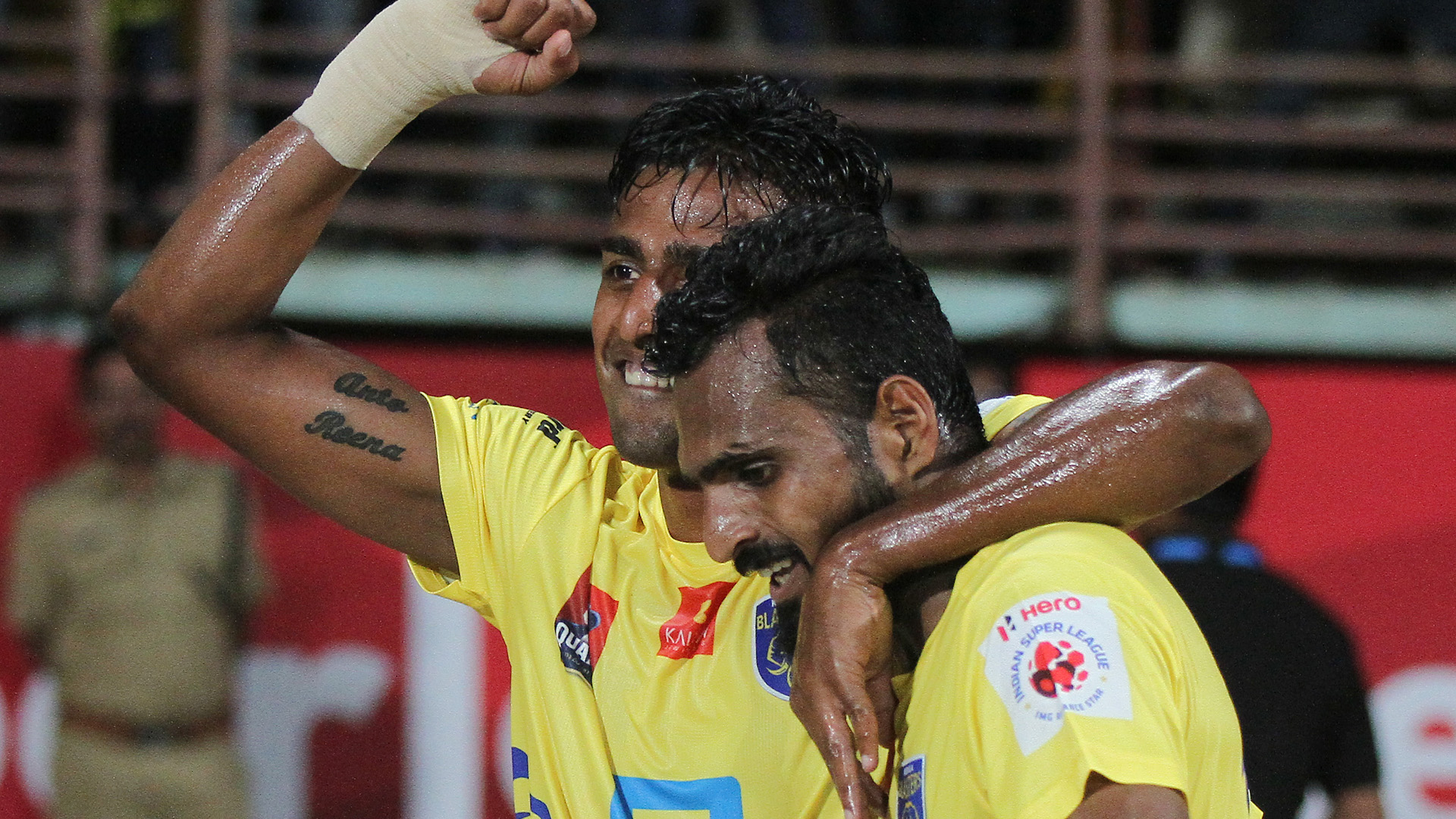 Rino Anto C K Vineeth Kerala Blasters FC Chennaiyin FC ISL season 3 2016
