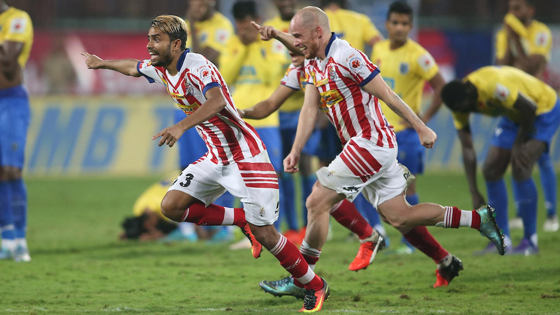 Prabir Das Iain Hume Atletico de Kolkata ISL Champions season 3 2016