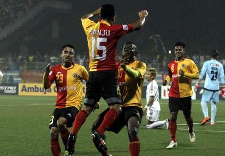 Report: East Bengal 4-0 Shillong Lajong