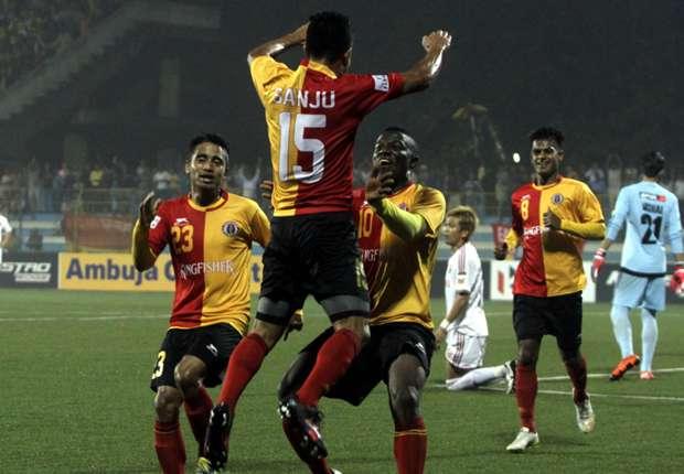 East Bengal 4 - 0 Shillong Lajong Match report - 09/02/16 ...