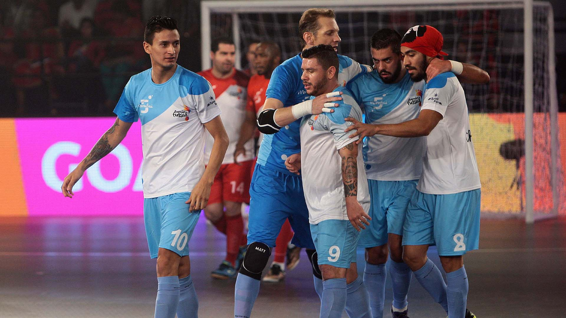 Kolkata 5's Mumbai 5's Premier Futsal India