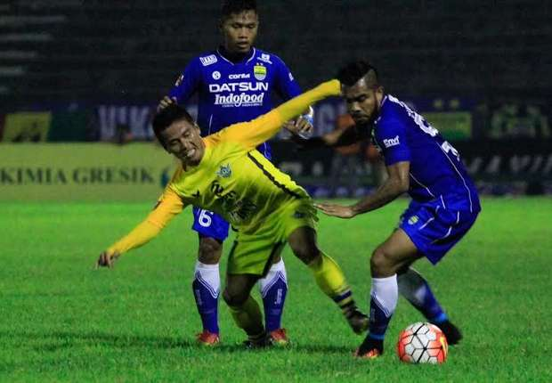 Persegres Gresik United menang 2-1 atas Persib Bandung