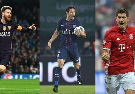Top Skor Liga Champions Sejauh Ini