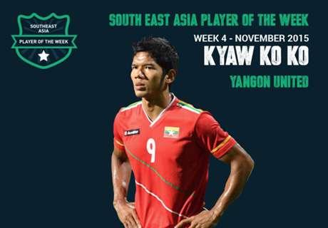 Pemain Terbaik Asia Tenggara Pekan Ini: Kyaw Ko Ko