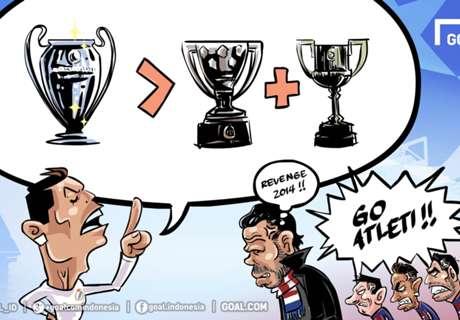 Cristiano: UCL > La Liga + CDR