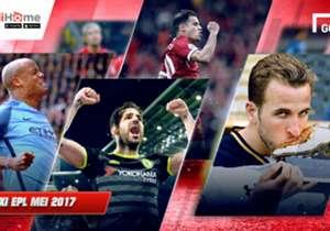 Di penghujung musim, klub lima besar EPL tampil mentereng dan mendominasi tim terbaik Mei, namun ada kejutan dari Swansea yang mengirim satu wakilnya. Seperti apa susunan Best XI Mei selengkapnya? Simak berikut ini, dipersembahkan Goal dan IndiHome - I...