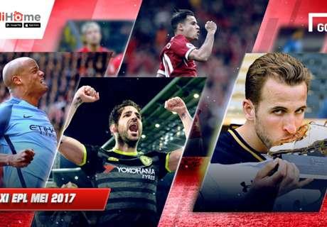 Tim Terbaik Liga Primer Inggris Mei 2017