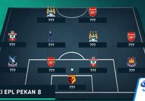 Siapa yang mengisi setiap posisi dari 11 tempat yang ada di susunan tim terbaik Liga Primer Inggris pekan ini versi Goal Indonesia? Simak galeri kami di sini.