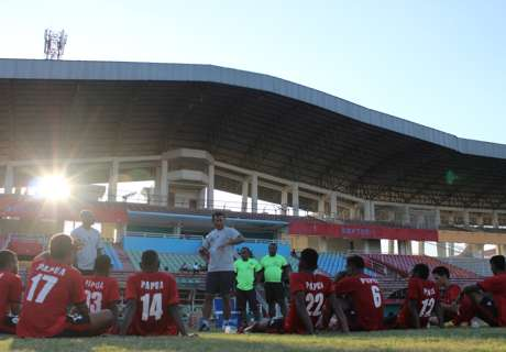 Pra PON Papua Barat Imbangi Deltras All Stars