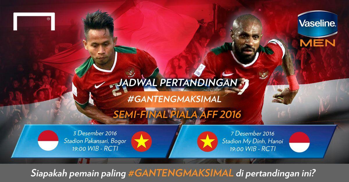 Jadwal Lengkap Semi Final Aff Suzuki Cup