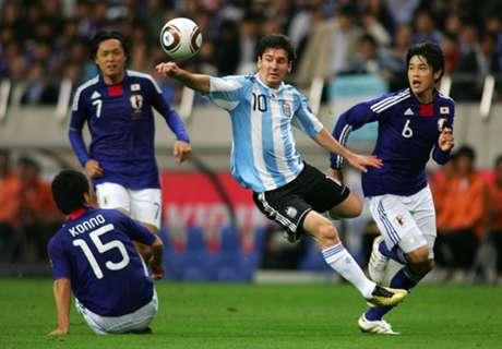 Kejutan Jepang Buat Argentina