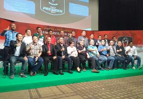 Ini Pembagian Grup Piala Presiden 2017