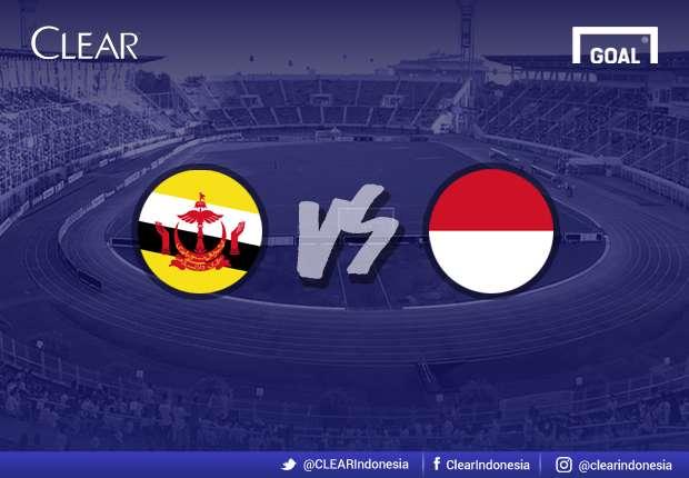 AFF U18 2017 - Menit Ke Menit Pertandingan: Brunei vs. Indonesia