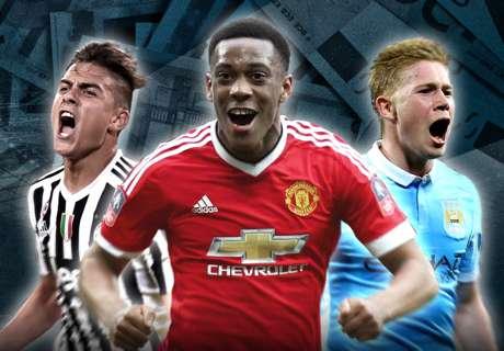 25 Transfer Terbaik Eropa 2015/16
