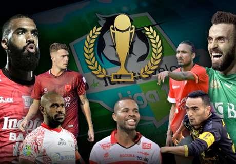 Lima Tikungan Terakhir Menuju Juara Liga 1 2017