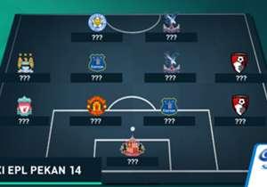 Goal Indonesia kembali menyuguhkan susunan tim terbaik Liga Primer Inggris untuk pekan ke-14 musim ini dengan tak banyak pemain dari tim besar berada di dalamnya. Siapa saja pemain yang masuk daftar ini?