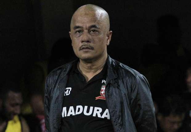 Haruna Soemitro ingin melihat kekompakan pemain Madura United FC di dua turnamen