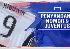 <p>Bomber anyar Juventus seharga€90 juta, Gonzalo Higuain, memilih angka sembilan sebagai nomor punggungnya. Nomor itu memang sudah sangat identik dengannya.</p> <p>Bagi Juve sendiri, no. 9memiliki aura yangkeramat. Sepanjang se...