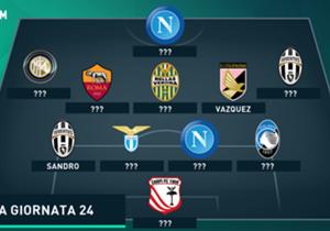 Napoli dan Juventus masih terus bersaing di posisi teratas, namun siapa yang layak dilabeli sebagai pemain terbaik pekan ini?
