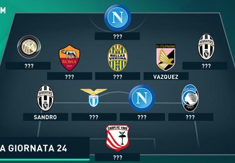 Tim Terbaik Serie A Giornata 24