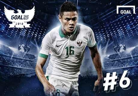 Goal 25 - Peringkat 6: Fachruddin