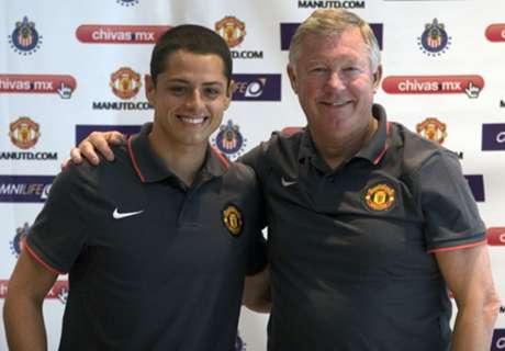 Javier Hernandez Gabung Manchester United