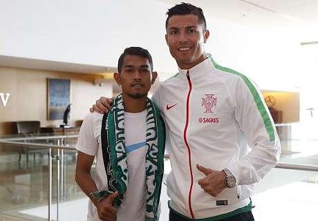 Anak Angkat Ronaldo Batal Gabung PS TNI