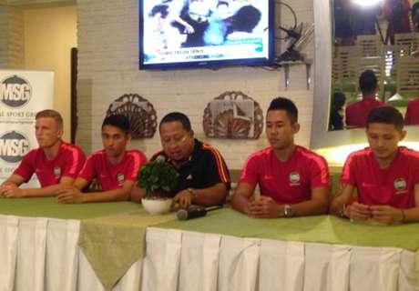 Trio Indonesia Latihan Di Jubilo Iwata U-18