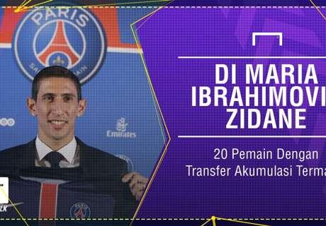 GALERI: Di Maria, Ibrahimovic & Akumulasi Transfer Termahal