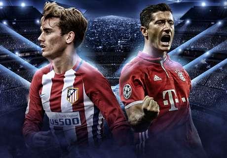 LIVE: Atletico Madrid vs Bayern Munich