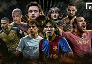 """""""Khal Drogo kok persis Pablo Osvaldo ya? Robb Stark mirip banget Owen Hargreaves!"""" <br><br> Celetukan semacam itu mungkin jamak terlontar dari mulut para penggemar serial televisi Game of Thrones (GoT) yang juga sekaligus fans berat sepakbola. Begitu b..."""