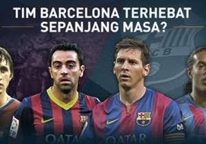 Jelang el clasico, Kami memilih Barcelona XI terbaik sepanjang masa. Siapa saja yang masuk?