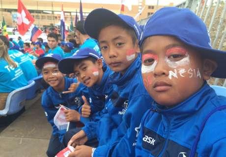 Indonesia Terhenti Di 16 Besar DNC 2015