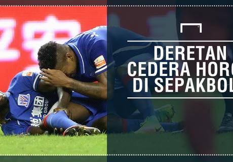 Cedera Horor Di Sepakbola
