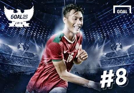 Goal 25 - Peringkat 8: Hansamu Yama