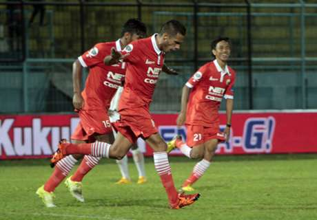 Persija Menang Tipis Atas Sriwijaya FC