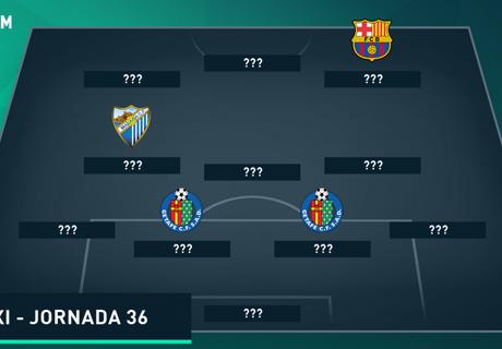 Susunan Tim Terbaik La Liga - Jornada 36