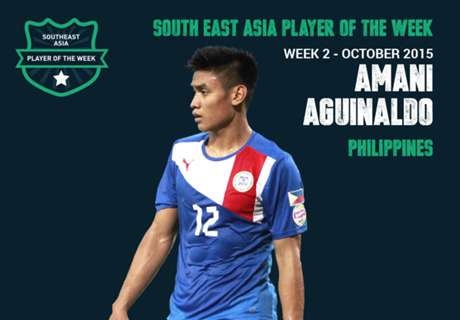 Goal Southeast Asia Player of the Week: อมานี อากีนัลโด้