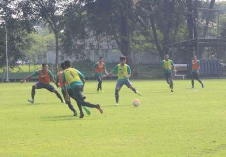 Febri & Saddil Cetak Gol Di Pertandingan Internal Timnas U-22