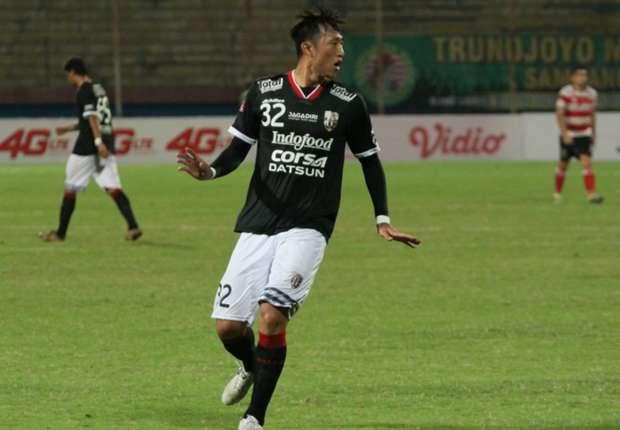(PIC:Bali United Perpanjang Kontrak Byung Geon 2 Tahun)