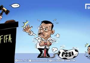 Wakil Presiden Jusuf Kalla turun tangan dalam konflik antara PSSI dan Kemenpora. Orang nomor dua RI tersebut pun meminta sepakbola Indonesia tetap berjalan dengan kompetisi berjalan dengan baik dan PSSI harus kembali diaktifkan lagi.
