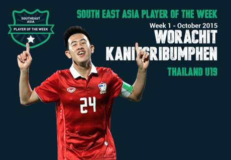 Goal Southeast Asia Player of the Week: วรชิต กนิตศรีบำเพ็ญ