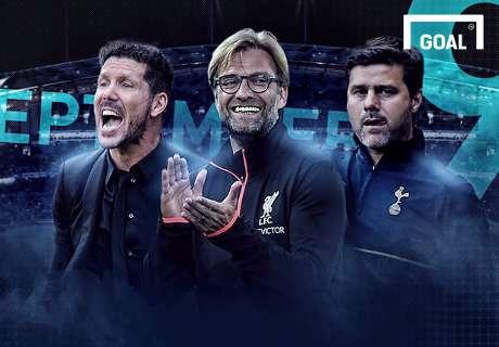 Siapa Pelatih Terbaik Eropa September?