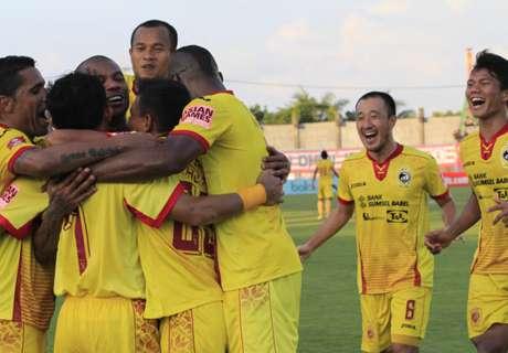 Sriwjaya FC Hentikan Paceklik Kemenangan