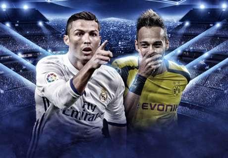 LIVE: Real Madrid vs. Borussia Dortmund